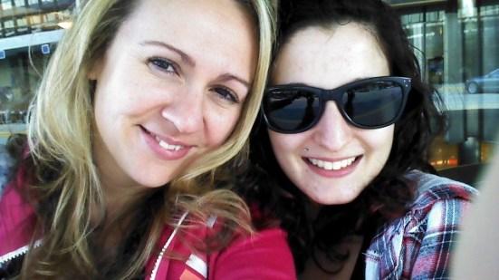 Reunited with Alyssa